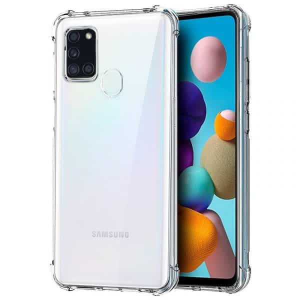 Carcasa Samsung Galaxy A21s AntiShock Transparente 1