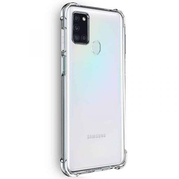 Carcasa Samsung Galaxy A21s AntiShock Transparente 2