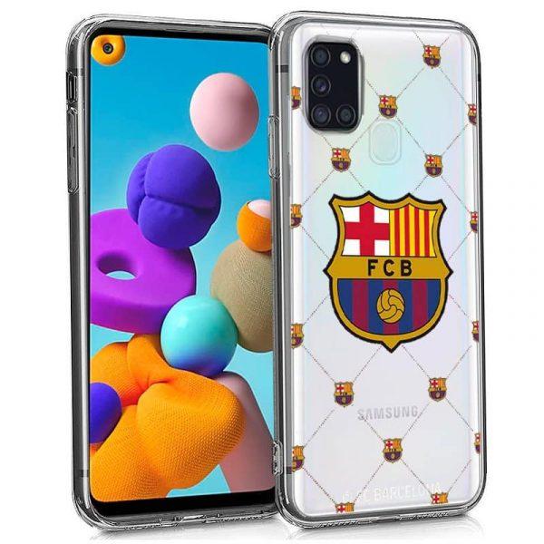 Carcasa Samsung Galaxy A21s Fútbol F.C. Barcelona 1