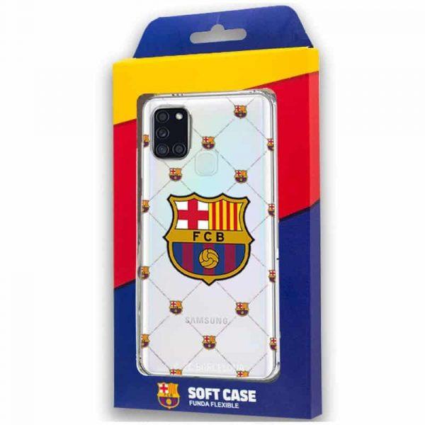 Carcasa Samsung Galaxy A21s Fútbol F.C. Barcelona 2