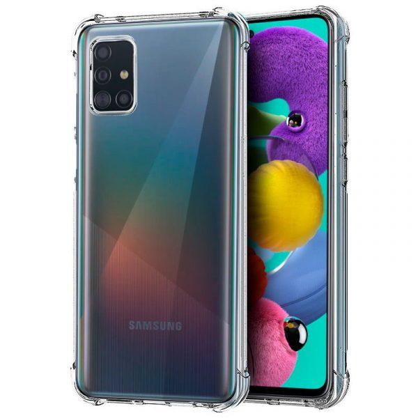 Carcasa Samsung Galaxy A51 AntiShock Transparente 1