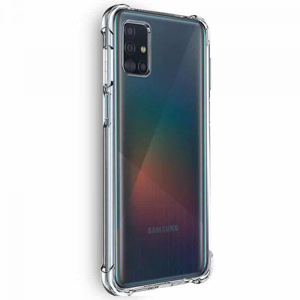 Carcasa Samsung Galaxy A51 AntiShock Transparente 2