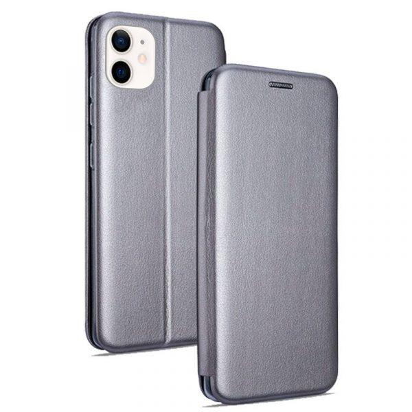 funda flip cover iphone 12 mini elegance plata 1