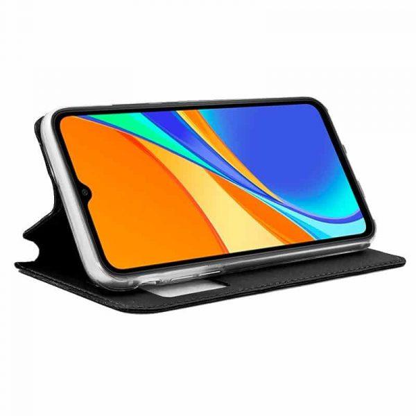 Funda Con Tapa Xiaomi Redmi 9C Negro 2