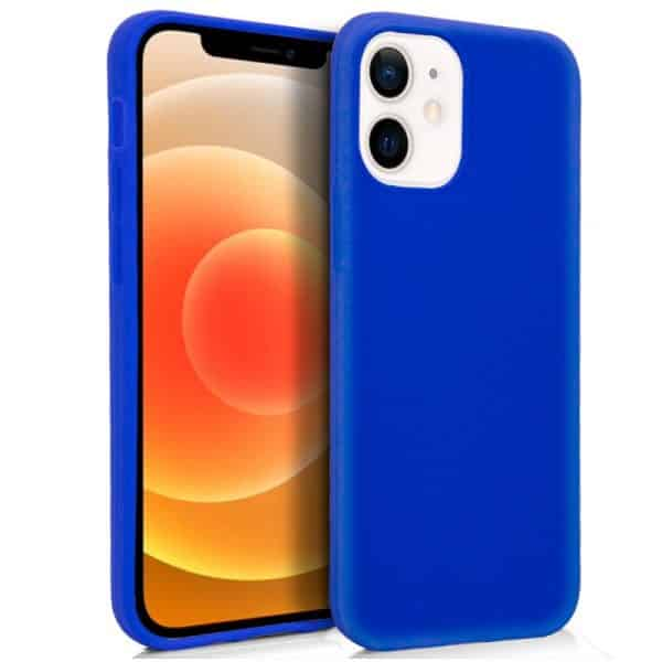 funda silicona iphone 12 mini azul 1
