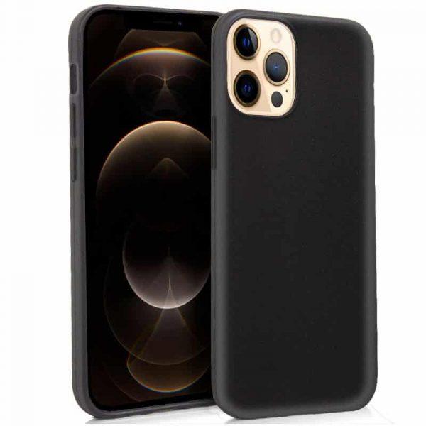 funda silicona iphone 12 pro max negro 1