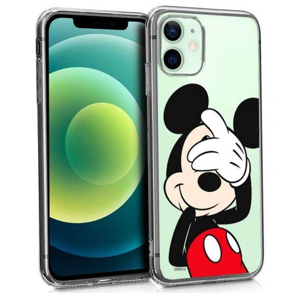carcasa iphone 12 12 pro licencia disney mickey 1