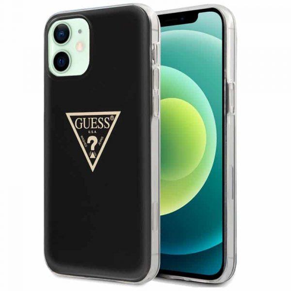 carcasa iphone 12 12 pro licencia guess negro 1