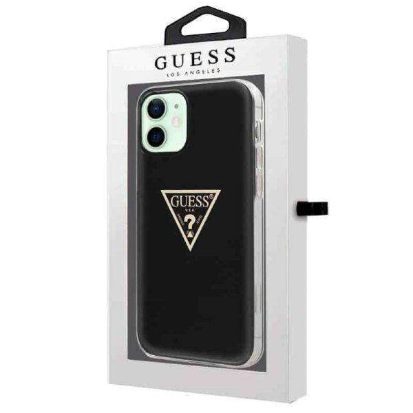 carcasa iphone 12 12 pro licencia guess negro 2