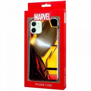 carcasa iphone 12 12 pro licencia marvel iron man 2