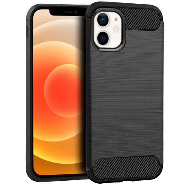 carcasa iphone 12 mini carbon negro 1