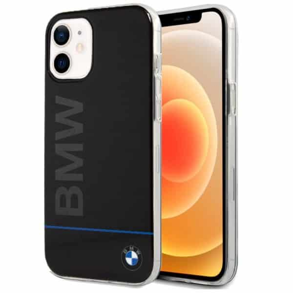 carcasa iphone 12 mini licencia bmw letras negro 1
