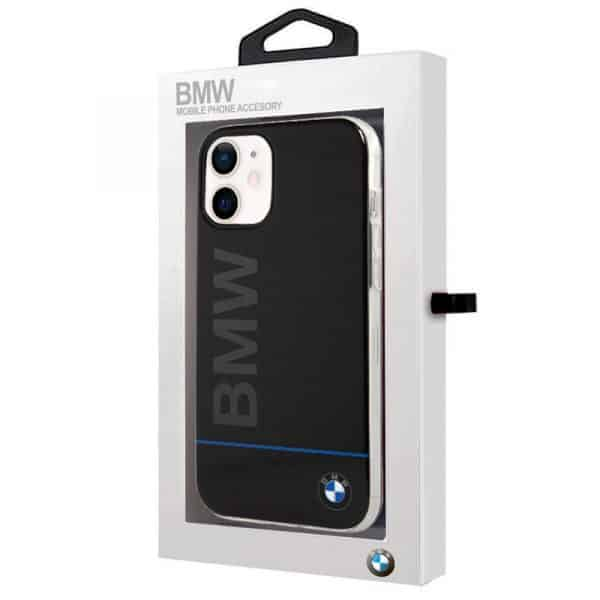 carcasa iphone 12 mini licencia bmw letras negro 2