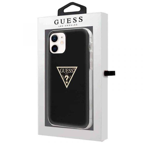 carcasa iphone 12 mini licencia guess negro 2