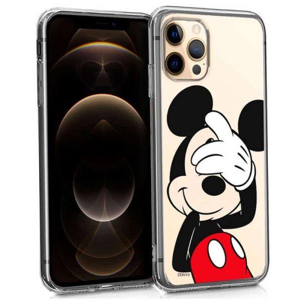 carcasa iphone 12 pro max licencia disney mickey 1