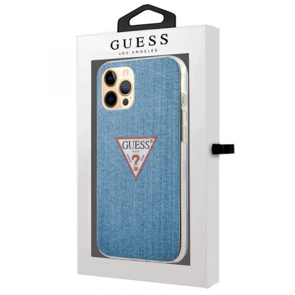 carcasa iphone 12 pro max licencia guess jeans 2