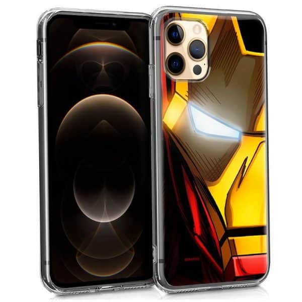 carcasa iphone 12 pro max licencia marvel iron man 1