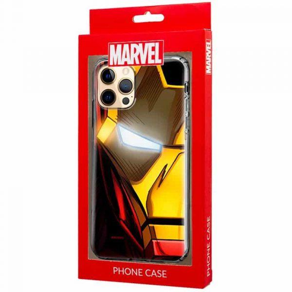 carcasa iphone 12 pro max licencia marvel iron man 2