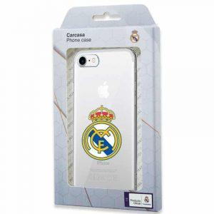 carcasa iphone 7 8 se 2020 licencia futbol real madrid transparente 2