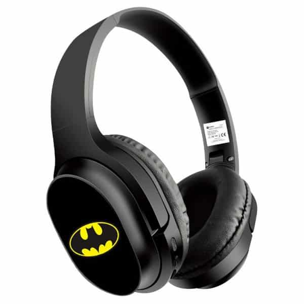 auriculares stereo bluetooth cascos licencia oficial dc batman 1