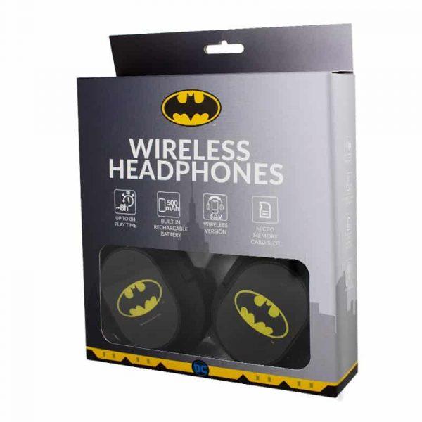 auriculares stereo bluetooth cascos licencia oficial dc batman 2