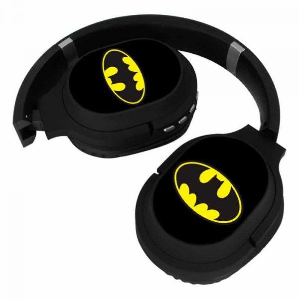 auriculares stereo bluetooth cascos licencia oficial dc batman 3