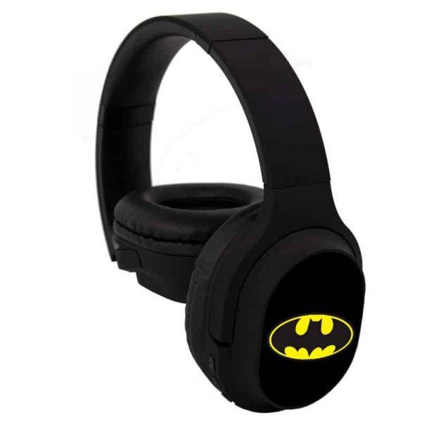 auriculares stereo bluetooth cascos licencia oficial dc batman 4