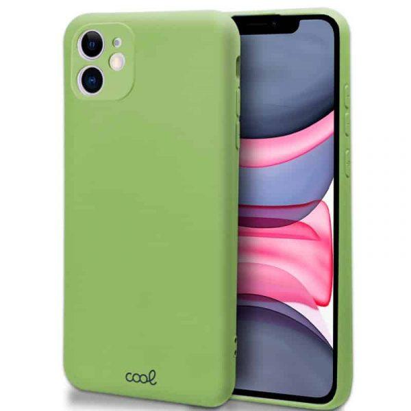 carcasa iphone 11 cover pistacho 1