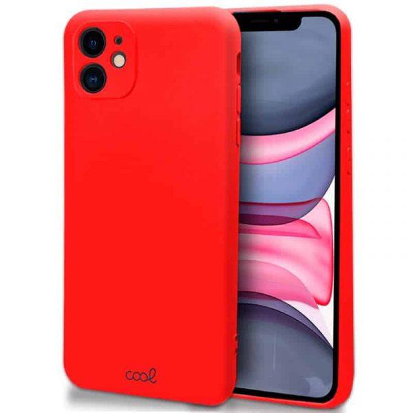 carcasa iphone 11 cover rojo 1