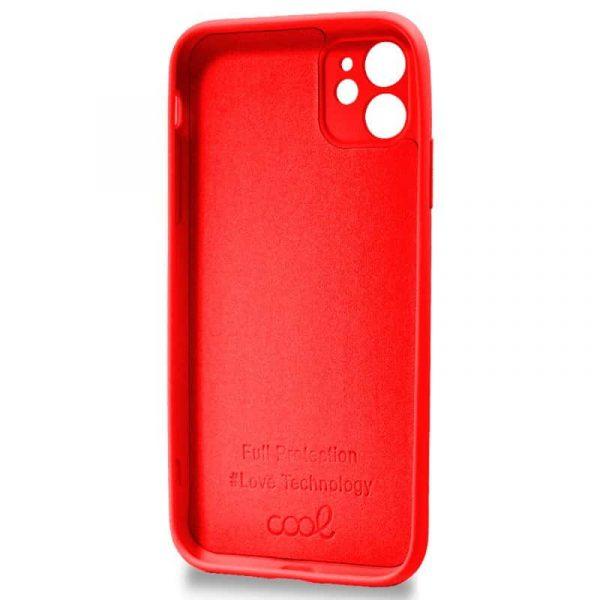 carcasa iphone 11 cover rojo 2
