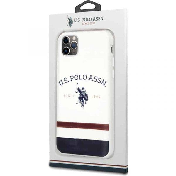 carcasa iphone 11 pro licencia polo ralph lauren blanco 2
