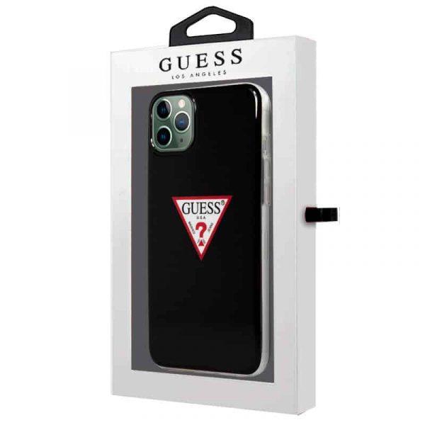 carcasa iphone 11 pro max licencia guess negro 2