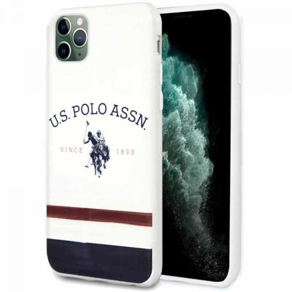 carcasa iphone 11 pro max licencia polo ralph lauren blanco 1