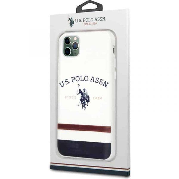 carcasa iphone 11 pro max licencia polo ralph lauren blanco 2