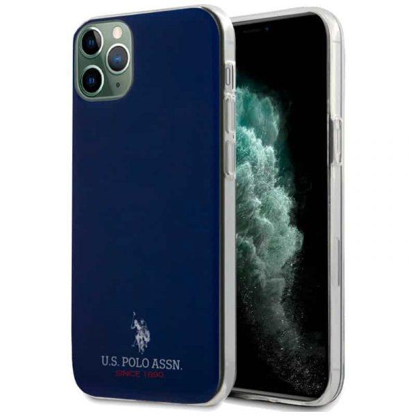 carcasa iphone 11 pro max licencia polo ralph lauren marino 1
