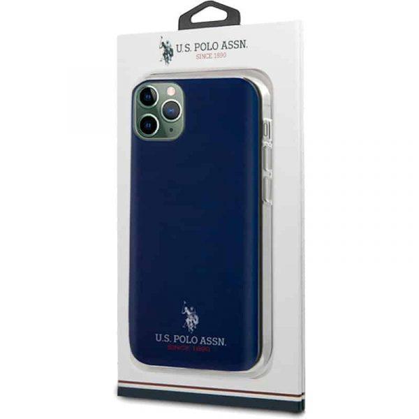 carcasa iphone 11 pro max licencia polo ralph lauren marino 2