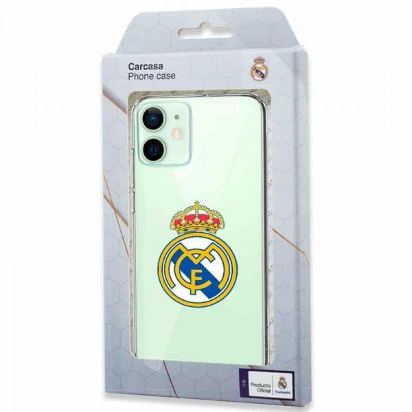 carcasa iphone 12 12 pro licencia futbol real madrid transparente 2
