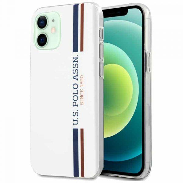 carcasa iphone 12 12 pro licencia polo ralph lauren blanco 1