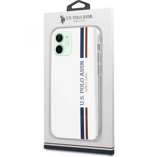 carcasa iphone 12 12 pro licencia polo ralph lauren blanco 2
