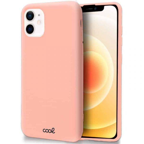 carcasa iphone 12 mini cover rosa 1