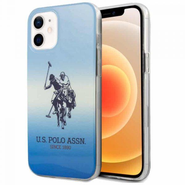 carcasa iphone 12 mini licencia polo ralph lauren azul 1