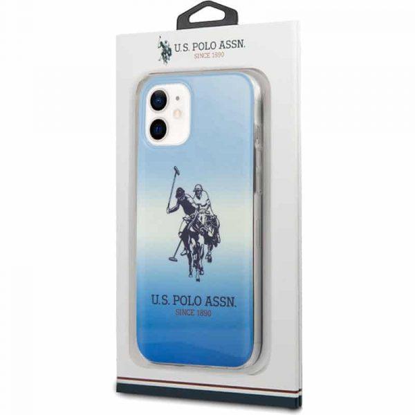 carcasa iphone 12 mini licencia polo ralph lauren azul 2