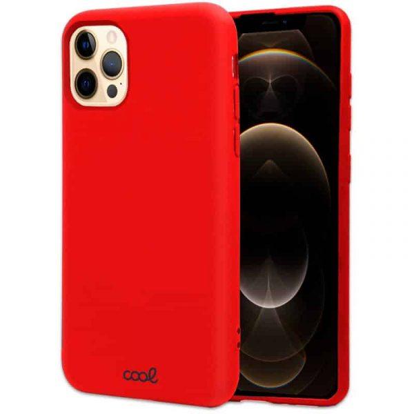 carcasa iphone 12 pro max cover rojo 1