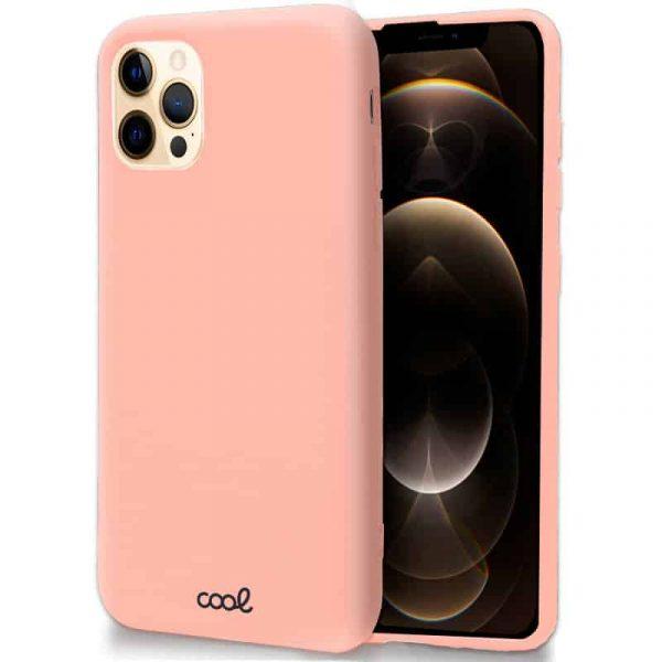 carcasa iphone 12 pro max cover rosa 1