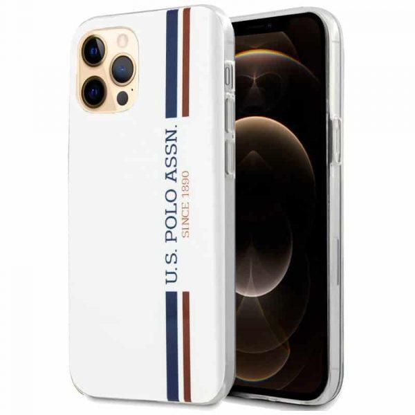 carcasa iphone 12 pro max licencia polo ralph lauren blanco 1