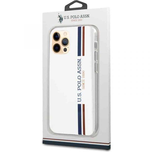 carcasa iphone 12 pro max licencia polo ralph lauren blanco 2