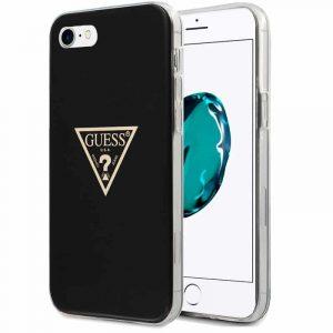 carcasa iphone 6 7 8 se 2020 licencia guess negro 1