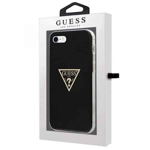 carcasa iphone 6 7 8 se 2020 licencia guess negro 2