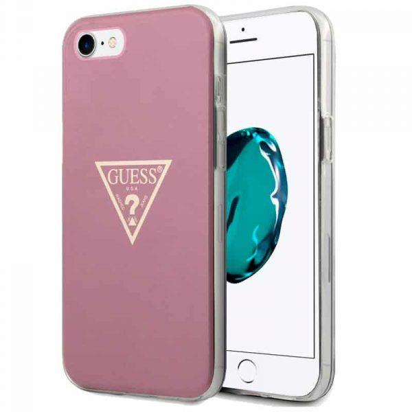 carcasa iphone 6 7 8 se 2020 licencia guess rosa 1