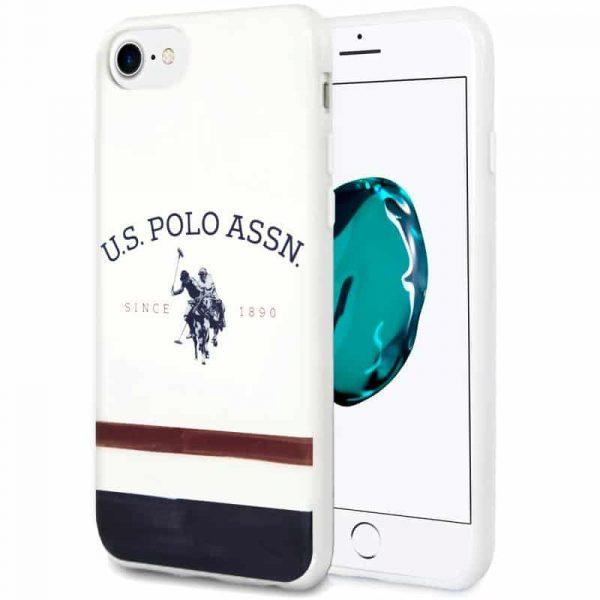 carcasa iphone 7 8 se 2020 licencia polo ralph lauren blanco 1